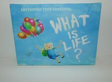 Adventure Time Presents What is Life Canvas Wall Sign Picture Art Print 30x40cm