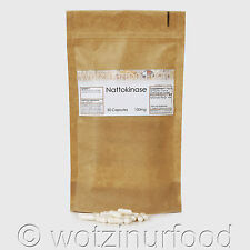 Wotzinurfood Nattokinase 100mg 2,000FU's Heart Health Genuine Japanese Kraft