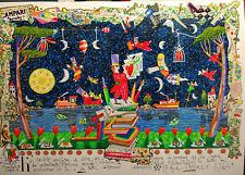 FRANCESCO MUSANTE  HO SCALATO MONTAGNE serigrafia firmata 50x70