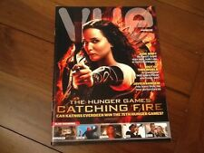 RARE PROMOTIONAL FILM MAGAZINE NOV. 2013. MINT . THE HUNGER GAMES CATCHING FIRE