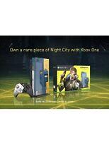 Cyberpunk 2077 collectors edition xbox one X console