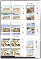 ZIMBABWE 2006 BRIDGES OF ZIMBABWE SG1196 TO 1201- SHEET NUMBER BLOCKS