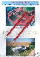 AUTO SCALESE (réplique CATERHAM) Catalogue commercial
