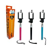 Telescopic Selfie Stick For Mobile Phones & Camera x 6 WHOLESALE JOB LOT