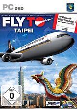 VOLA a Taipei PER MICROSOFT FLIGHT SIMULATOR X NUOVO E SIGILLATO