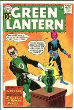 GREEN LANTERN #9-1962-DC-1ST SINESTRO COVER-GIL KANE ART- vg