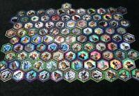 Lot of 101 RARE & ULTRA RARE Star Wars Galactic Connexions Coins Token GC37