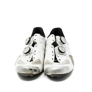 Louis Garneau Course Air Lite II Carbon Cycling Shoes, White, Sz 41.5 EU/ 8.5 US