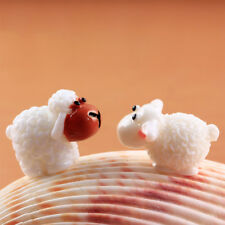 5 Pcs Mini DIY Sheep Animals Home Garden Decor Cute Micro Figurines Miniatures