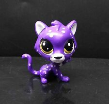 Cute lps Littlest Pet Shop Purple Cheetah Upesi Duma #125 Hasbro Figure
