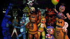 Five Nights at freddys FNAF Poster Wall Art | A4 A3 A2 UK Seller | E279