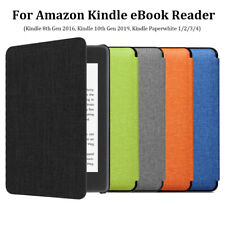 "Para Amazon Kindle Paperwhite 10th GEN 2019 6"" E-reader de Cuero Inteligente Funda Cubierta."