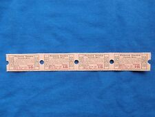 Vintage 10 Cent Pickwick Theatre Tickets (Strip of 4) Drive-In Movie/Cinema - MS