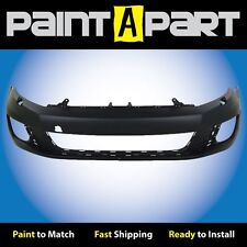 2010 Volkswagon GTA (W/HL Wshrs, W/O Snrs) Front Bumper (VW1000185) Painted