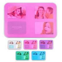 Tischset Platzset Untersetzer Foto Platzdeckchen abwaschbar 4/12er SET 5 Farben