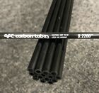 """Two AFC .2200"""" Carbon Pultruded Round Tube 31.5"""" Long .1325"""" ID RC Hobby Kite"""