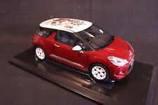 Norev Citroën DS3 1:18 Red / White (AK)