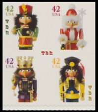 Holiday 2008 Nutcrackers 4364-67 4367a Block From Vending BK306 MNH - Buy Now