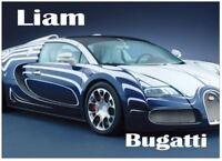 Personnalisé fast /& furious voiture jigsaw puzzle tout nom//message//photo imprimé