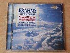 Brahms Choral Works/Kansas City Chorale/Charles Bruffy/1997 CD Album