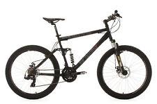 Mountainbike Fully 26'' Insomnia MTB 21 Gänge Schwarz RH 50 cm KS Cycling 100B