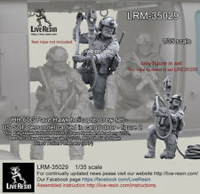 1/35 HH-60G Pave Hawk Helicopter Crew - US SOF Personnel Carried in Cargo Door 2