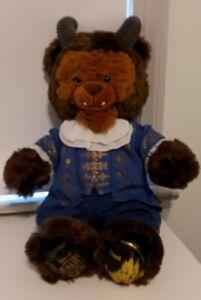 """Build a Bear Disney Beauty & The Beast  19"""" BEAST Plush w/ Clothes"""