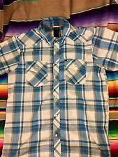 The North Face Pearl Button Short Sleeve Shirt Mens Medium