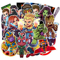 95Pcs IronMan Spiderman Hulk Kids Marvel Avengers Superhero Stickers Stickerbomb
