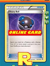 2x Heavy Ball - for Pokemon TCG Online ( DIGITAL ptcgo in Game Card)