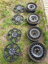 Audi, A2, Stahlfelgen, 8Z0601027, 5,5 x 15, ET34, 4 Stück, Radkappen