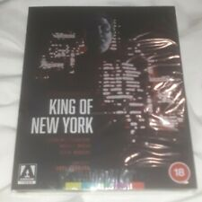 King of New York (1990) - 4K UltraHD Blu-ray - Arrow Video - NEW SEALED