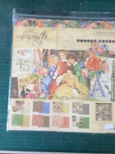 "Graphic 45 Little Women Collection Pack  12x12"" Scrapbooking Paper Pad"