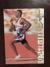 1996 Upper Deck U.S. Olympic #105 - Michael Johnson - 200 & 400 Meters