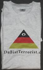Freizeit - T-Shirt - B&C Collection - Größe L - Du Bist Terrorist  - siehe Bild