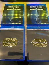 Star Wars Ep.4 5 6 Single,Double sets 4K Blu-Ray 1977 4K77 1983 4K83 Region Free