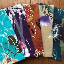 Japanese hand towel 5pcs set  high quality hand dyed