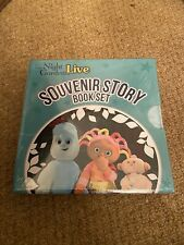 Brand New In The Night Garden Live Souvenir Story Book Set Ninky Nonk Pinky Ponk