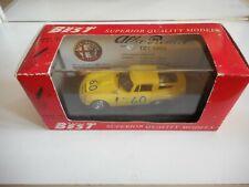 Best Model Alfa Romeo TZ 1 Targa Floria '65 in Yellow on 1:43 in Box