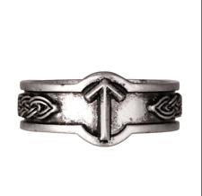 Nordic Viking Rune Tiwaz Slavi Anello Taglia U