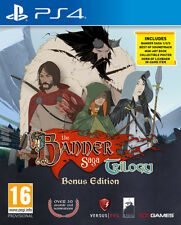 The Banner Saga Trilogy Edizione Bonus PS4 Playstation 4 IT IMPORT 505 GAMES