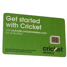 *Brand New!* Cricket Wireless 4G Lte Nano (4Ff) Sim Card