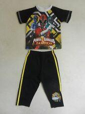 Mothercare Boys Power Rangers  Summer PJ's Nightwear Pyjamas 12-18 months