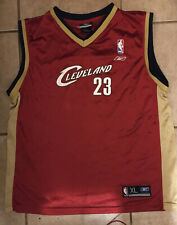 Reebok Cleveland Cavaliers LeBron James Youth Jersey Size XL