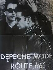 Depeche Mode Route 66 Vintage Poster Huge 1980's Retro Music Pin-up Large 80's