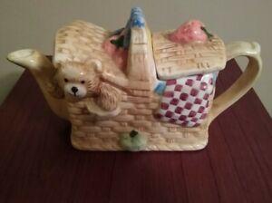 Teddy Bear's Picnic Novelty Teapot