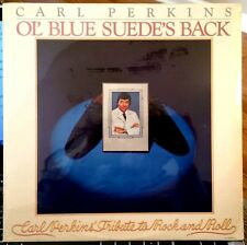 SEALED Carl Perkins LP - Ol' Blue Suede's Back - Jet LP 208, 1978 - NOT A CUTOUT