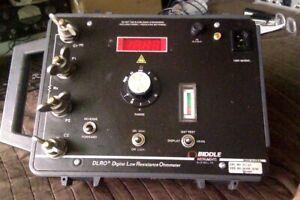 Biddle 247001 DLRO ohmmeter - READ