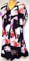 TS top TAKING SHAPE plus sz S-M/ 18 Purple Haze Longline Tunic NWT rrp$119!