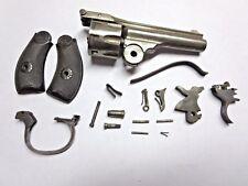 H&R .22 Top Break Revolver Parts: Barrel, Cylinder, Hammer, Trigger, Grips 22
